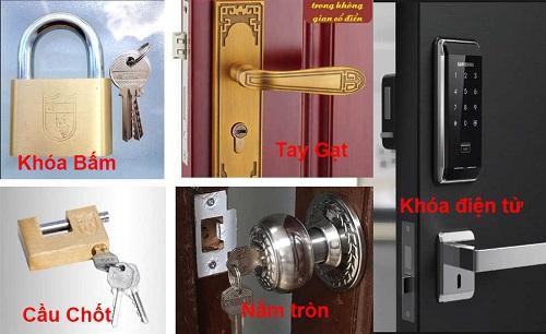 sửa khóa cửa