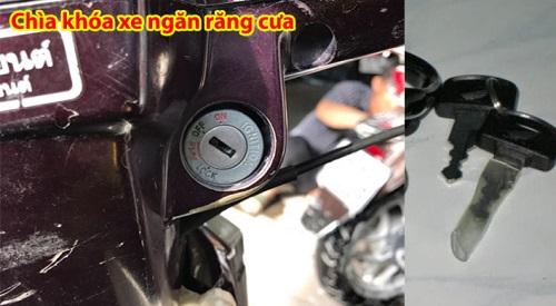 Chìa khóa xe máy răng cư 2 chiều