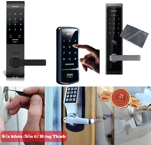 Dịch vụ sửa khóa điện tử uy tín – giá rẻ tại Hà Nội