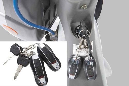 thay pin điều khiển xe đạp điện