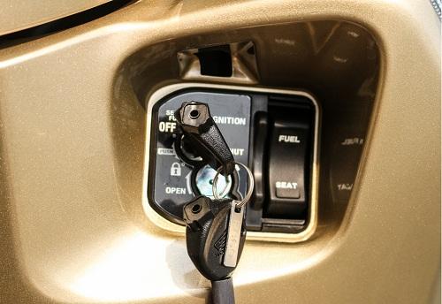 Cách mở khóa xe airblade