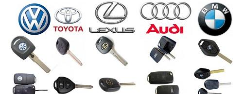 đánh chìa khóa ô tô