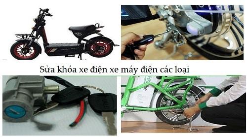sửa chữa xe đạp điện