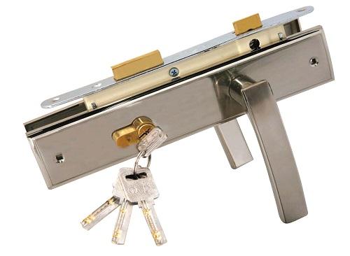 Ổ khóa cửa sắt tay gạt