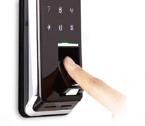 Cách đổi mật khẩu khóa cửa hafele vân tay