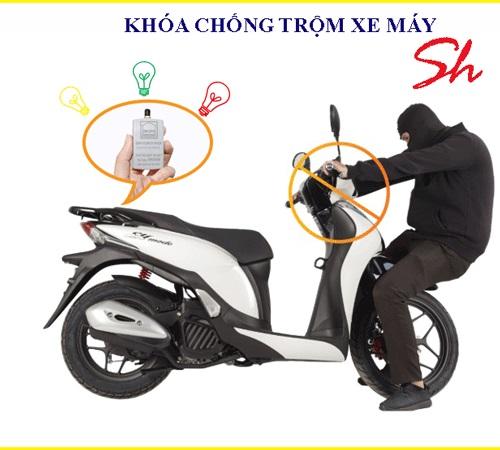 Sơ đồ lắp chống trộm xe máy và cách lắp chống trộm xe máy