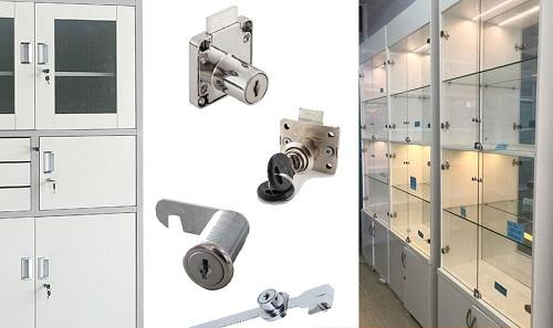 Các loại ổ khóa tủ nhôm
