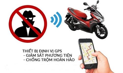 Khóa chống trộm xe máy có định vị