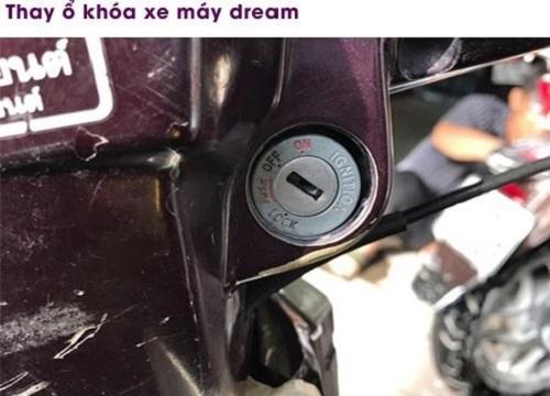 ổ khóa xe dream zin