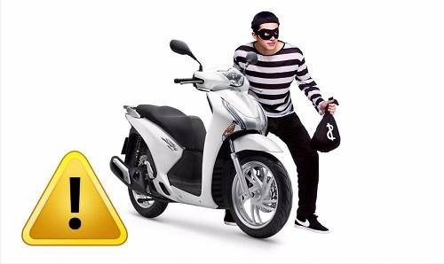 khóa từ chống trộm xe