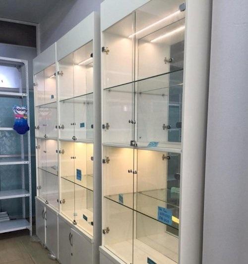 Các loại khóa tủ kính 2 cách mở và cách lắp khóa tủ kính tại nhà