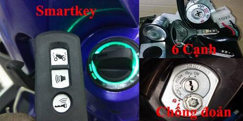 Khi nào cần thay khóa xe máy?Thay ổ khóa xe máy bao nhiêu tiền?