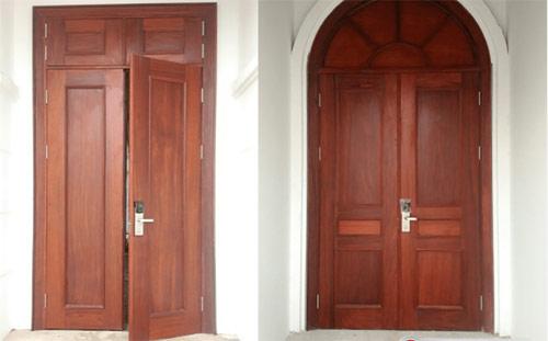 khóa cửa gỗ 2 cánh
