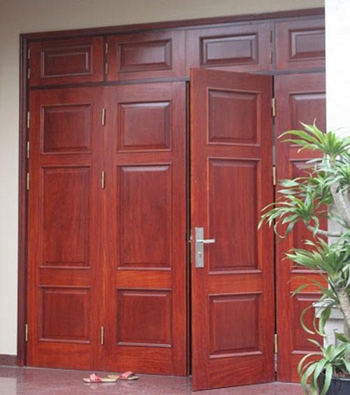 Ổ khóa cửa gỗ 4 cánh