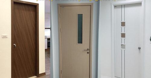 Khóa cửa gỗ nhà vệ sinh